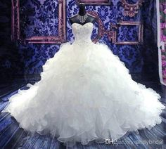 This site has some amazing wedding dresses for cheap!