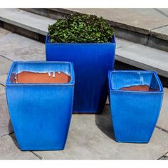 Blue Planters on Hayneedle - Blue Planters For Sale - Page 3