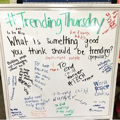 Trending Thursday
