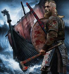 Vikings-ragnar-lothbrok by bucfan98 on DeviantArt