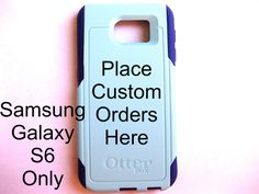 Custom otterbox samsung s6, Glitter case, cute samsung galaxy s6, custom otterbox galaxy s6, gift, galaxy s6 case,custom order by JoeBoxx on Etsy