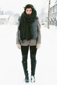 A SNOWY DILEMMA | @Chictopia