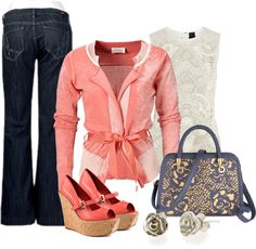 """Trouser Jean"" by msdeeds on Polyvore"