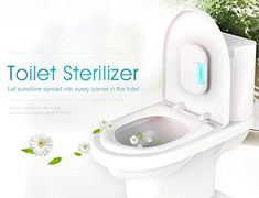 Emperor of Gadgets Toilet Sanitizer with UV Light and Ozo...