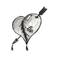 The Lovers Heart Tattoo by eckert82.deviantart.com on @deviantART
