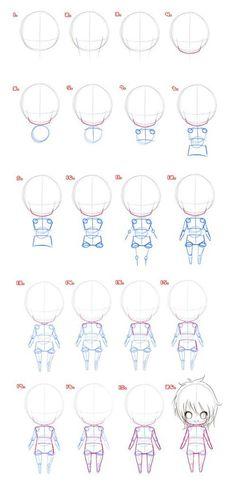 Dicas | Personagem gordinho - Ilustrando Ideias