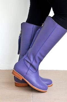 WANDERLUST. Riding boots / Womens leather boots / sizes por BaliELF, $260.00