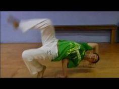 Advanced Capoeira Moves : How To Do A Macaquinho - YouTube