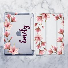 Apple iPad Air Wi-Fi Only Model) - Ipad Air 2 - Ideas of Ipad Air 2 - Floral iPad 6 case Personalized case iPad 2017 case Custom Name case iPad Flowers case iPad Air 2 case iPad Mini 4 Smart cover Ipad Air 2 Ideas of Ipad Air 2 Cute Ipad Cases, Ipad Air 2 Cases, Coque Ipad Air, Make Your Own Case, Make It Yourself, Iphone 5se, Apple Watch Iphone, Ipad Holder, New Ipad