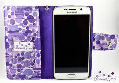 Samsung Galaxy S6 Wallet Case Samsung Galaxy by DawnieLynnCrafts