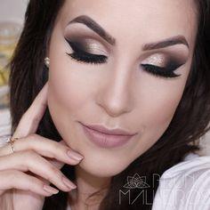 Maquiagem bafonica para as noivas