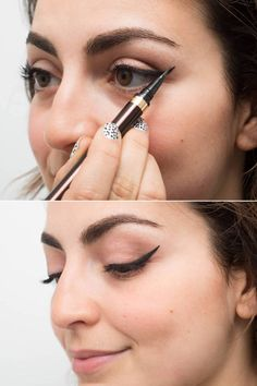 22 ways to make applying your eyeliner much easier: