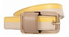 It's not only shirts that have stripes! Be original and pick a belt that matches your striped outfit!