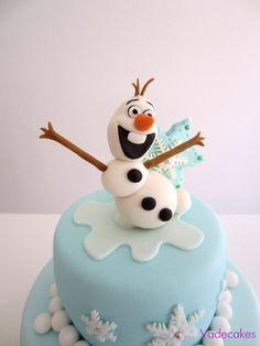 Olaf cake topper
