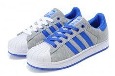 new style d2352 90508 Originals Adidas Jeremy Scott Superstar Blue Grey Shoes Grey Shoes, Leopard  Shoes, Adidas Official