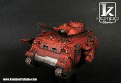 Blood Angels Predator Tank - Warhammer 40,000
