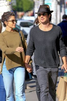 We're Thankful For Nikki Reed and Ian Somerhalder's Sweet Outing in LA