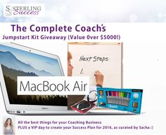 The Complete Coach's Jumpstart Kit (Valued at over $5,000)