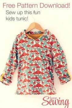 Kids Tunic - Free Pattern to Download!