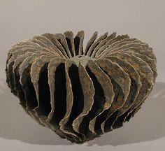 Ursula Morley Price | Brown Flange, 2001.  Stoneware