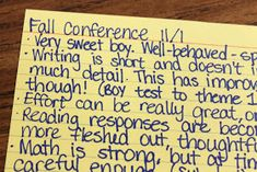 Parent- Teacher Conference Survival Guide-- how to keep everything organized & ready for a great conference!