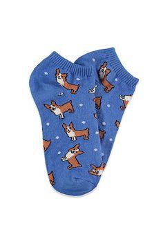 Corgi Ankle Socks | Forever 21 - 2000113672