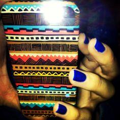 Tribal phone case