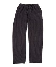 Look what I found on #zulily! Black & Gray Pinstripe Lounge Pants by Ben Sherman #zulilyfinds