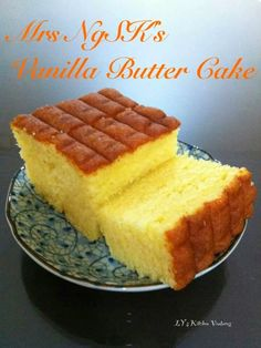 LY's Kitchen Ventures: Mrs NgSK's Vanilla Butter Cake
