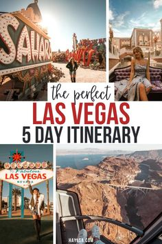 Get a guide to the 5 day Las Vegas itinerary including the best things to do in Las Vegas and the best day trips from Las Vegas to add to your itinerary! #vegas #lasvegas | things to do in Las Vegas | Las Vegas vacation | Las Vegas hotels | Seven Magic Mountains | Las Vegas 5 day itinerary | Las Vegas itinerary | Las Vegas Instagram spots | Grand Canyon from Las Vegas | 5 day itinerary Las Vegas | 5 day Las Vegas | 5 days in Las Vegas | Las Vegas day trips | Las Vegas itinerary things to do Las Vegas Vacation, Las Vegas Hotels, Vacations In The Us, Road Trip, Top Travel Destinations, United States Travel, American, Cool Places To Visit, Day Trips