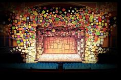 Matilda set design for Broadway. Is this cool or what? A friend said it might take away from the acting, but as long as we can see the actors, I think that's all that matters.