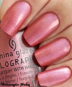 """Claudia the Holographic Hussy shows the new China Glaze holos: this is """"Not In This Galaxy"""""""