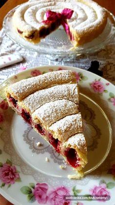 Fruit Smoothie Recipes, Fruit Recipes, Sweet Recipes, Dessert Recipes, Fun Baking Recipes, Pastry Recipes, Cookie Recipes, Torte Recipe, Kolaci I Torte