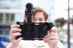 The Beastgrip Pro Turns Your Phone Into A Mobile Video Rig | TechCrunch