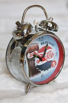 Pepsi Vintage Alarm Clock by DesignWise4U on Etsy, $24.00