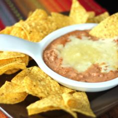 Cheater Restaurant Style Refried Beans - Stressfree Recipes
