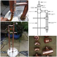 "Build a Copper Reflux Still for Producing High Proof Alcohol DIY Project Homesteading - The Homestead Survival .Com ""Please Share This Pin"""