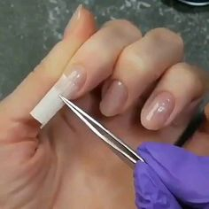 Uñas Acrilicas [Video] in 2020 Polygel Nails, Cute Nails, Hair And Nails, Manicure, Pretty Nails, Diy Acrylic Nails, Summer Acrylic Nails, Summer Nails, Classy Nails