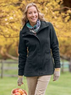 From your chilly little chin to your brrr-it's-cold bum, our Be Brave Jacket will keep you toasty warm. | Sahalie.com