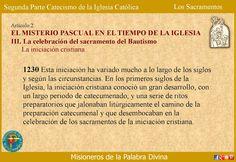 Misioneros de la Palabra Divina: CATEQUESIS SOBRE LOS SACRAMENTOS