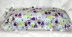 #Minky #Pet #Pillow #Bed Purple #Owl and White #thecraftstar $11.99