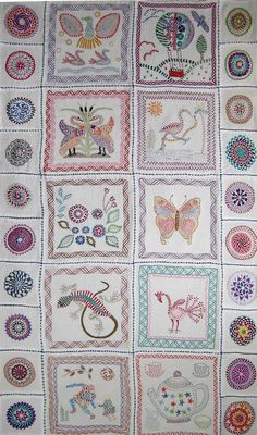 kantha style embroidery - http://dulwichonview.org.uk/assets/uploads/2012/11/Just-Stitches-kantha.jpg