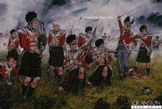 The Cameron Highlanders at Waterloo