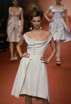 Kate Moss - Vivienne Westwood's Spring/Summer 1997 runway