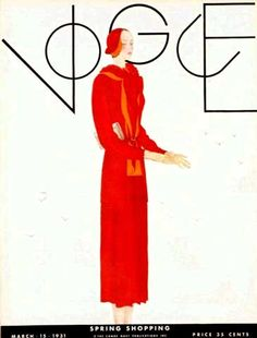 Georges Lepape, Vogue, March 1931 by Gatochy.
