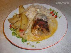 Pečené kurča s nivou