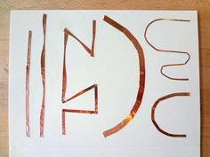 Getting started with copper tape by jieq, via Flickr