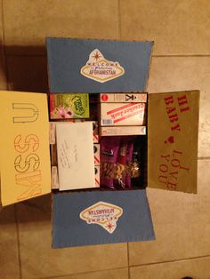 Military deployment care package - Welcome to Fabulous Afghanistan