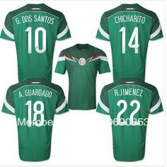 4f2e3d0b1 New arrival top Thailand Quality 2014 world cup Mexico Player version soccer  jersey Football jersey