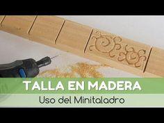 Cómo hacer una talla o un grabado en madera | Bricolaje